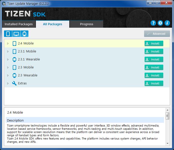 Install Tizen SDK using CDN - Tizen Wiki